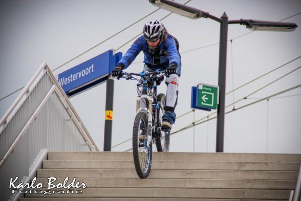 Station Westervoort Mountainbiker